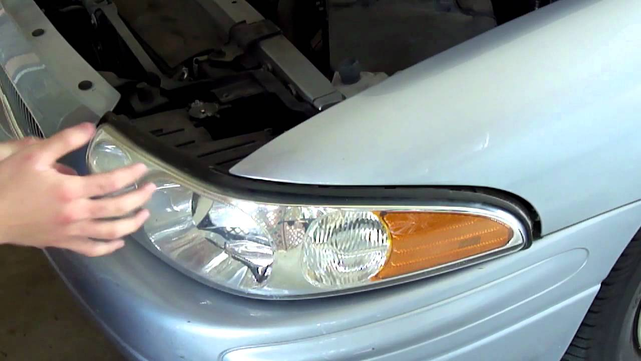 2003 buick regal headlight assembly [ 1280 x 720 Pixel ]