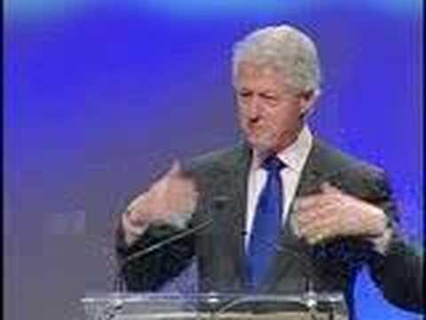 Clinton's opinion of Tony Robbins