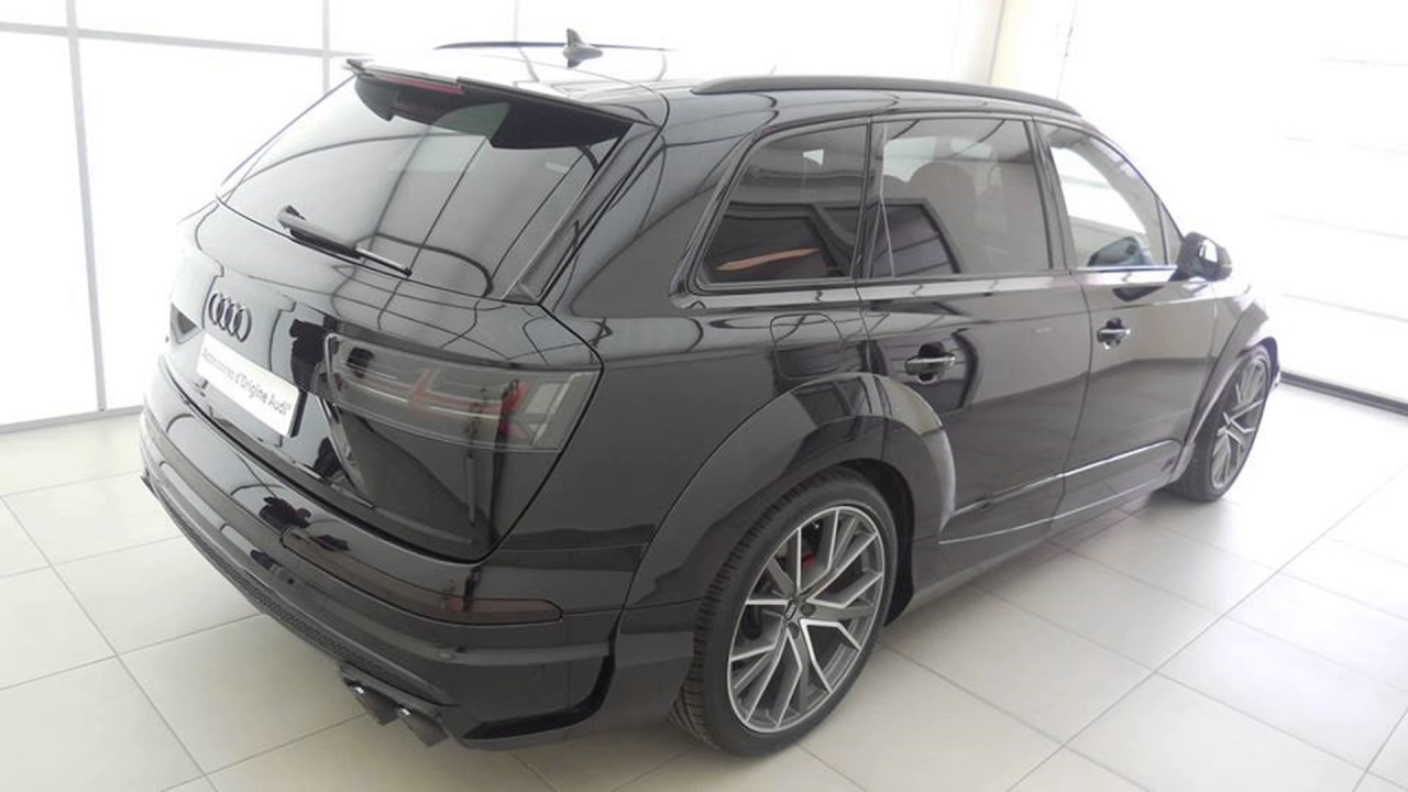 dia show tuning abt sportsline widebody audi sq7 mit 520ps. Black Bedroom Furniture Sets. Home Design Ideas