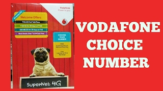 Vodafone choice Number