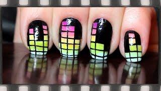 Яркий Маникюр Эквалайзер (рисунки на ногтях) | Music Equalizer Nail Art(В этом видео я покажу, как нарисовать на ногтях Эквалайзер (темброблок) и сделать градиентный маникюр на..., 2014-12-14T16:17:46.000Z)