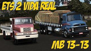 MB 13-13 SAINDO DO POSTO - ETS 2 VIDA REAL - MAPA ROTAS BRASIL - G27!!!