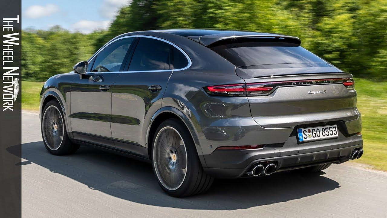 2020 Porsche Cayenne S Coupe Quarzite Grey Metallic Driving Interior Exterior Youtube