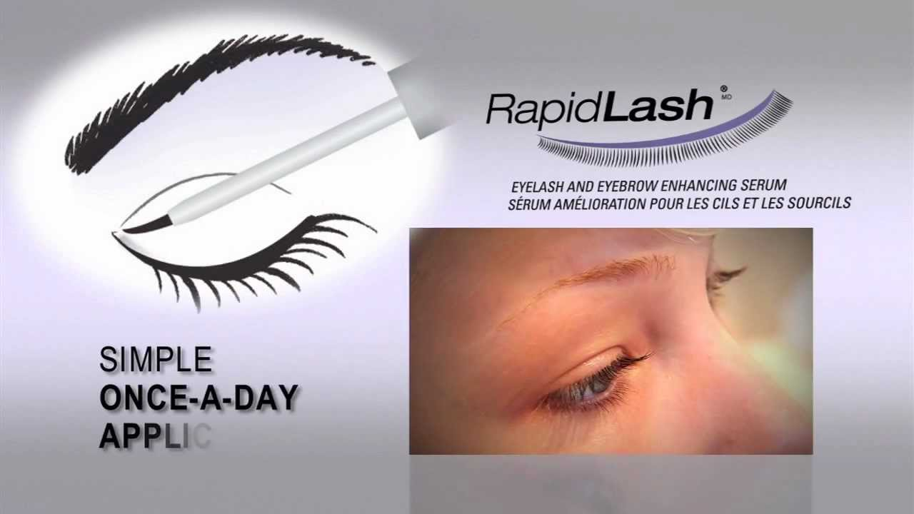 Rapidlash Improve Your Own Lashes And Brows Youtube
