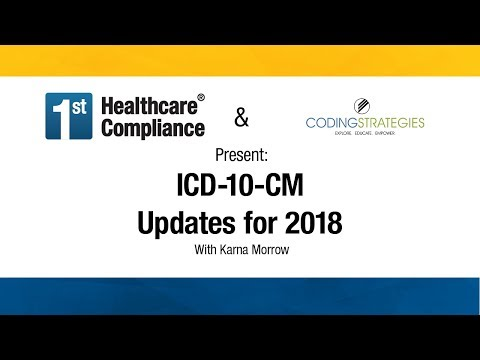 ICD-10-CM Updates for 2018