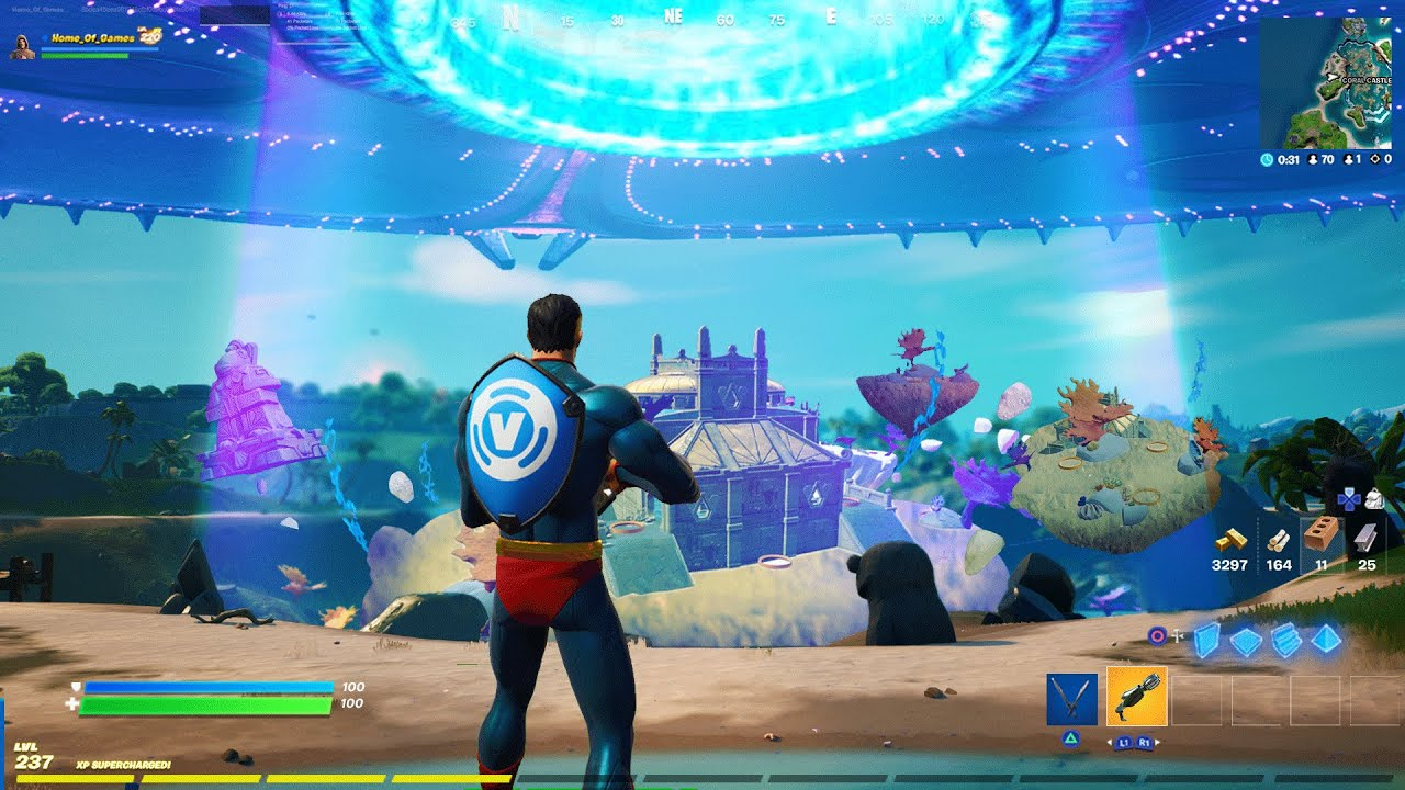 Download MOTHERSHIP 2nd *ABDUCTION* in Fortnite SEASON 7!