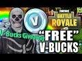 FREE V-BUCKS GIVEAWAY CHALLENGE! NOT CLICK BATE