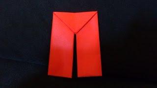 Cara Membuat Origami Celana Panjang | Origami Baju