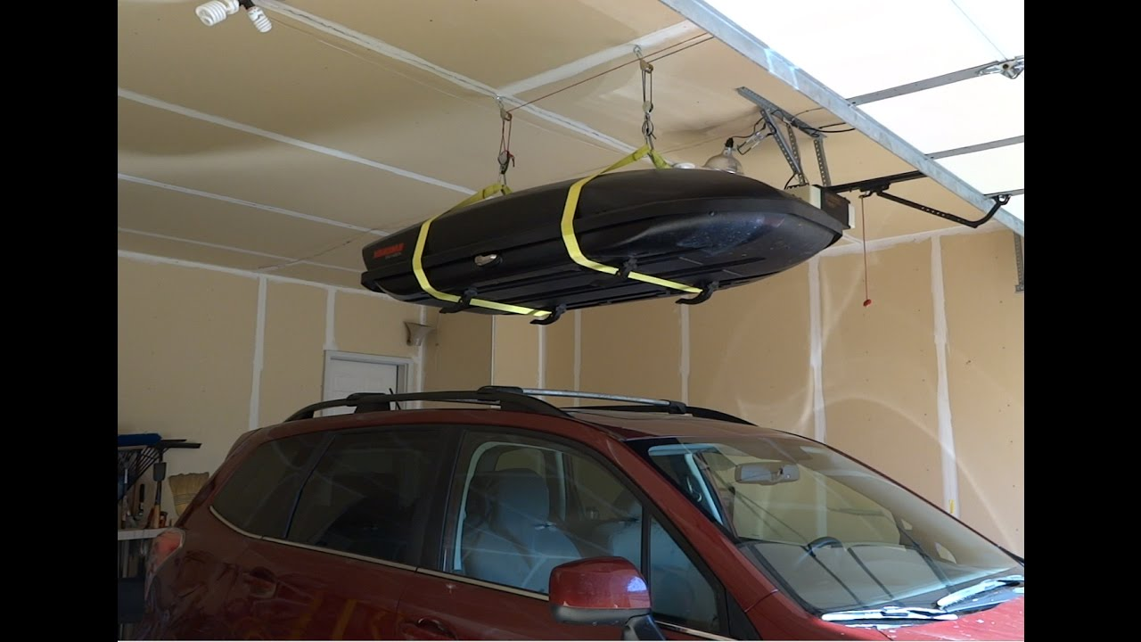 Roof Rack Garage Storage