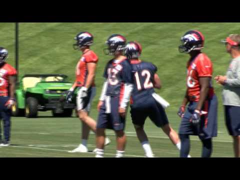 Denver Broncos wrap up mini camp; QB competition gets real in July