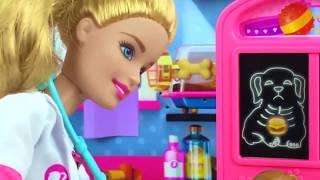 🦄🐇 Ветеринарная клиника Барби 🐿️🐼 ДРУЖОК ПРОГЛОТИЛ ОГРОМНЫЙ 🍔 БУРГЕР 😱😨😨 #Куклы, #Мультик