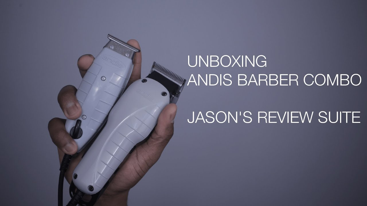 Unboxing Andis Barber Combo The Review Suite