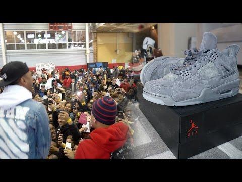 GIVING A FAN $1,000 YEEZYS!!! NEW YORK SNEAKER SHOPPING VLOG!! I GOT SOME HEATTTTT!!
