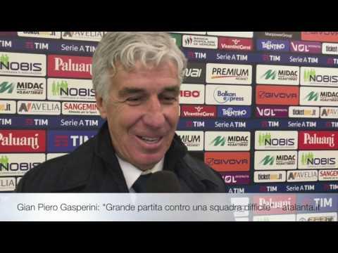 """Gian Piero Gasperini: """"Grande partita contro una squadra difficile"""""""