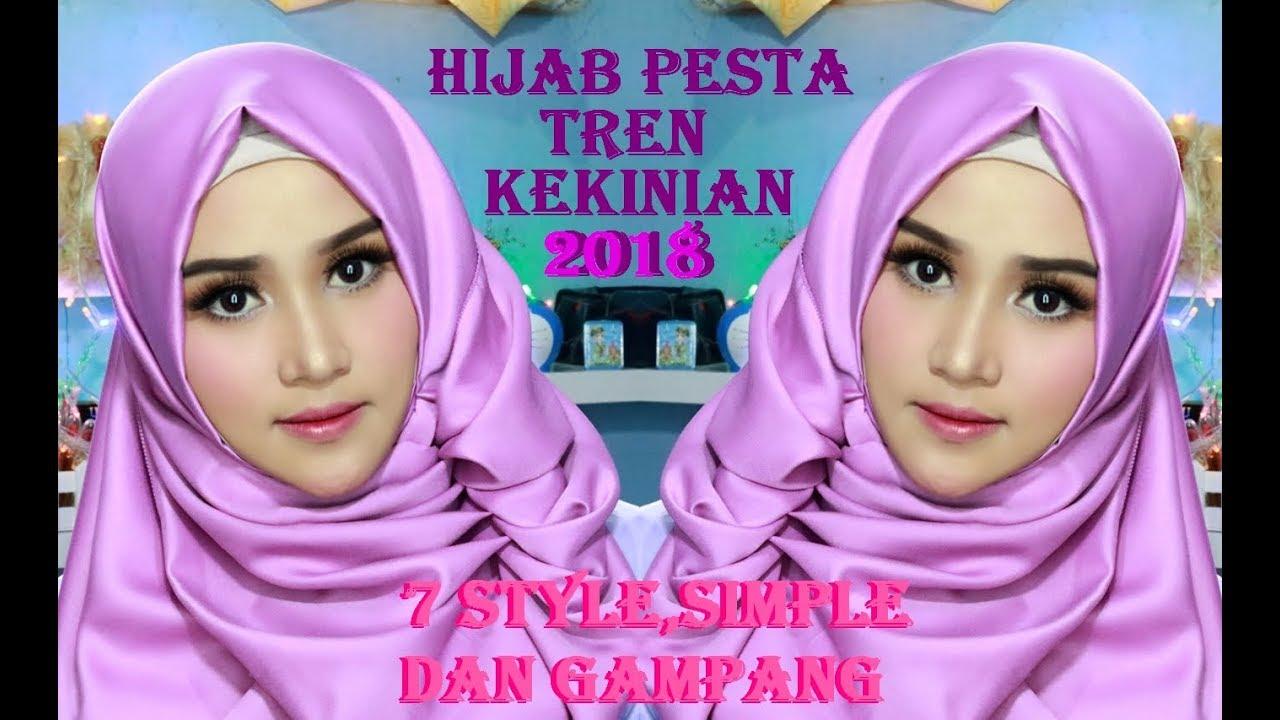 Hijab Segi Empat Satin Valvet Cantik Simple Mewah Elegan Kekinian Hijab 20181 1 Youtube