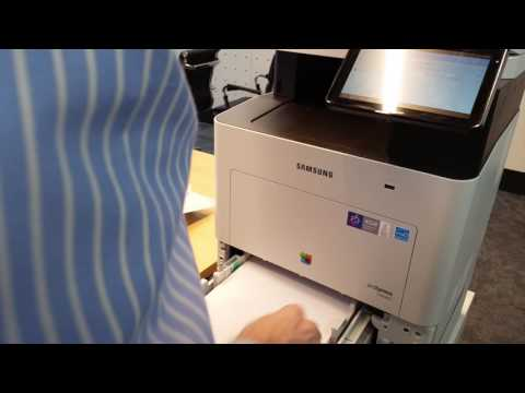 Samsung SL-C4060 - Loading Paper in the Tray