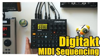 Sequencing Midi on the Digitakt? // As good as software DAW?