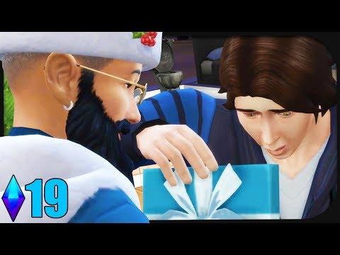 Wir FEIERN Weihnachten mit einem haarigen Mann. ☆ Sims 4