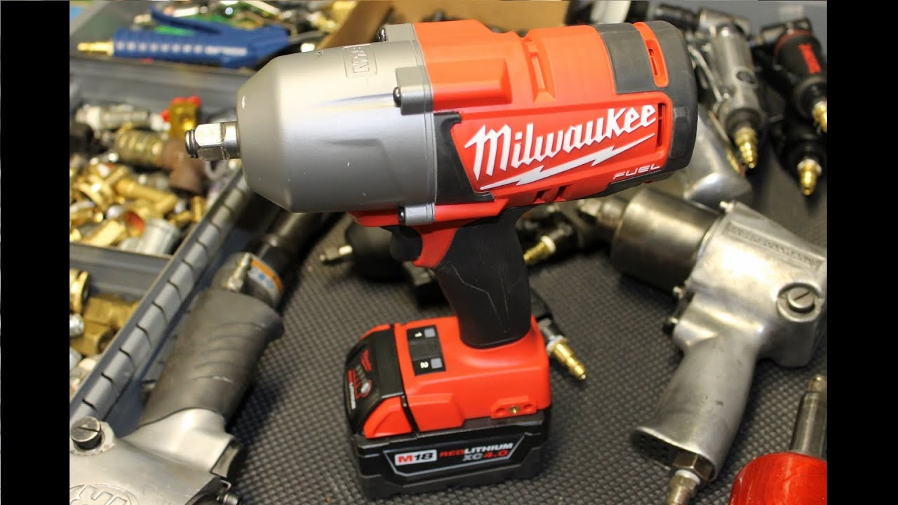 Milwaukee M18 Fuel 2763 22 High Torque 1 2 Impact Wrench