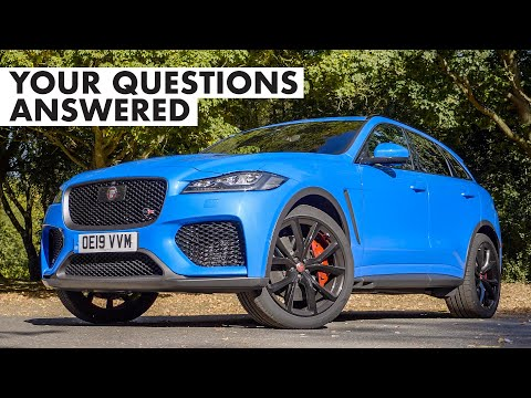 Jaguar F-Pace SVR: Your Questions Answered | Carfection +