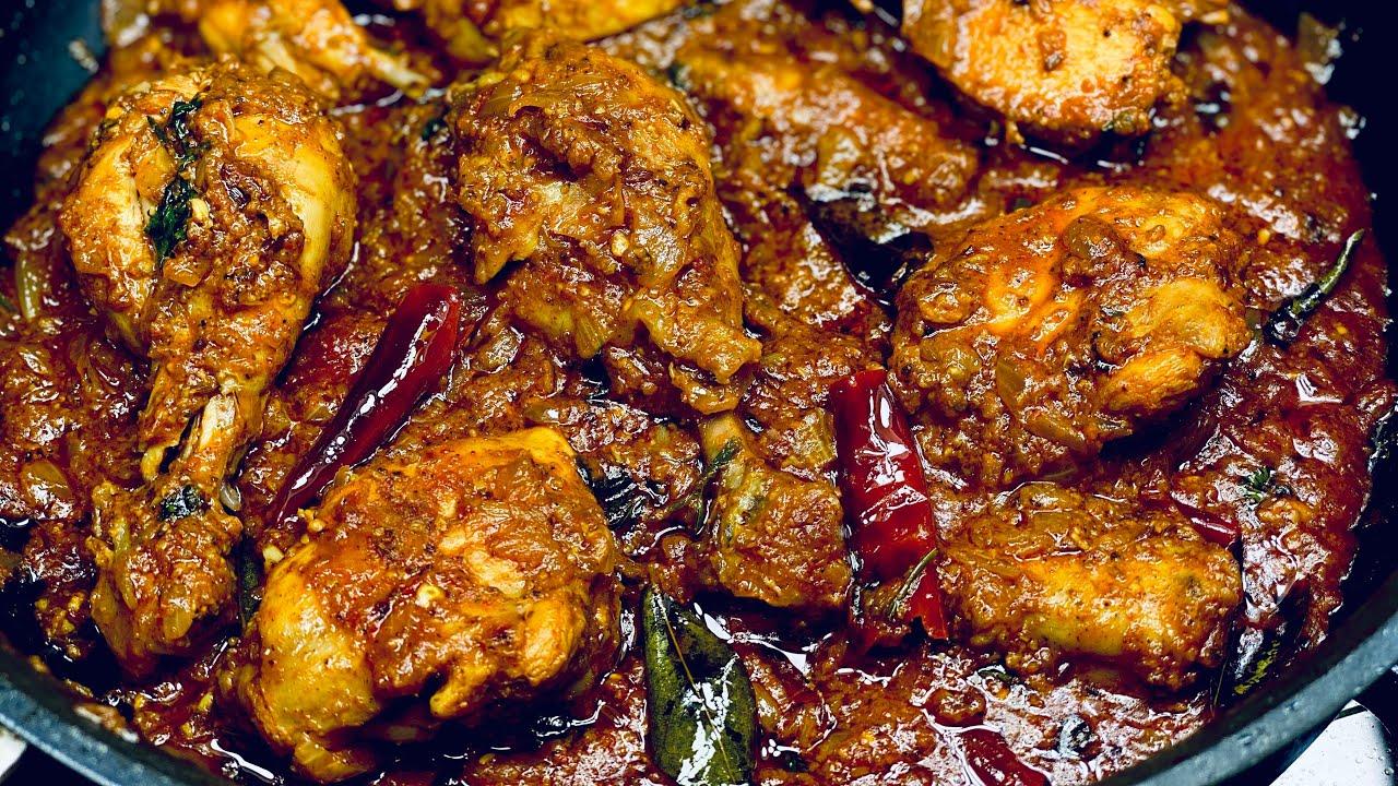 लाजवाब स्वाद वाला मसालेदार टेस्टी चिकन भुना मसाला | Spicy Chicken Bhuna Masala |Spicy Chicken recipe