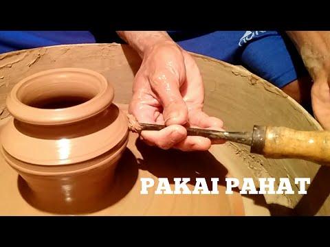 Cara ekstrim membuat kerajinan tangan primitif dari tanah liat