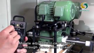 Ultra small Diameter Deep Hole Drilling Machine. 超細孔深孔加工機.