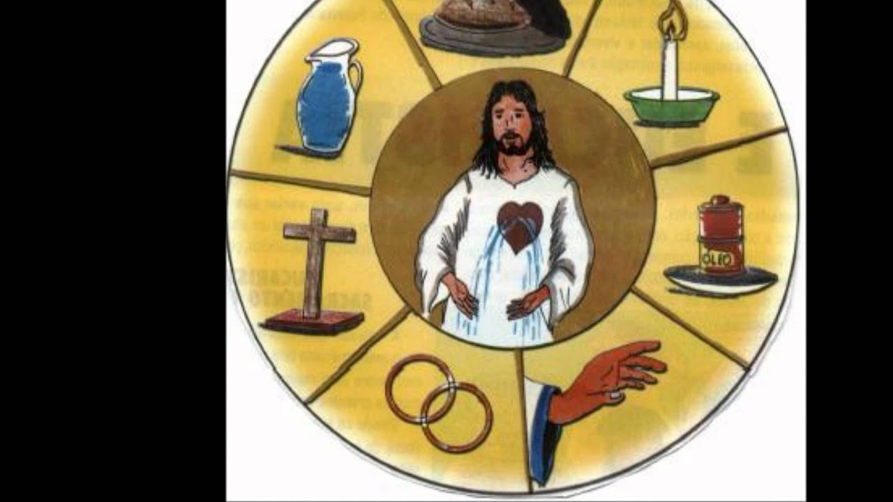Simbolo Del Matrimonio Catolico : Los sacramentos youtube