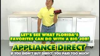 Appliance Stores Orlando - Dishwasher Cake Test
