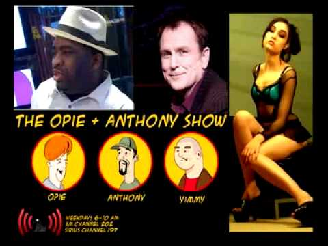 Opie & Anthony - Colin Quin, Patrice Oneal, Brother Wease in studio