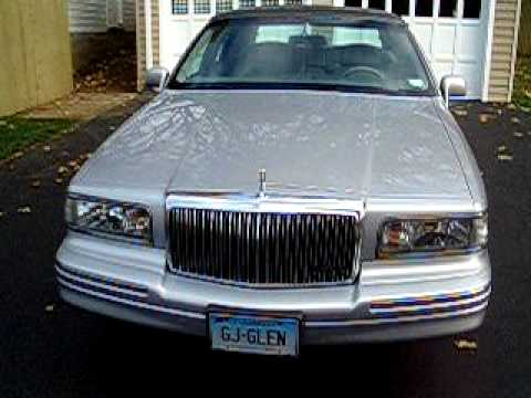1995 Lincoln Town Car Executive Youtube