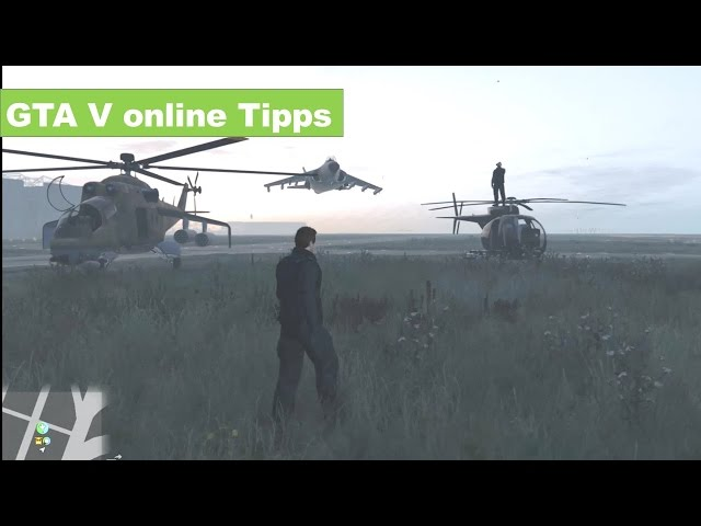 GTA 5 online Tipps Buzzard Vs Savage Vs Hydra