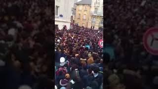 Manifestation africaine à Paris 18/11/2017- esclavage en lybie