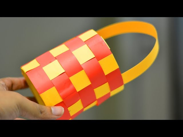 PAPER VASE  SIMPLE LIFE HACKS  PAPER CRAFT  WASTE MATERIAL REUSE IDEA  TRICKY LIFE 