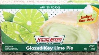 Krispy Kreme Doughnuts: Glazed Key Lime Pie Review
