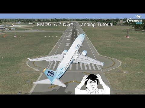 PMDG 737 NGX - REAL BOEING PILOT - Landing Tutorial