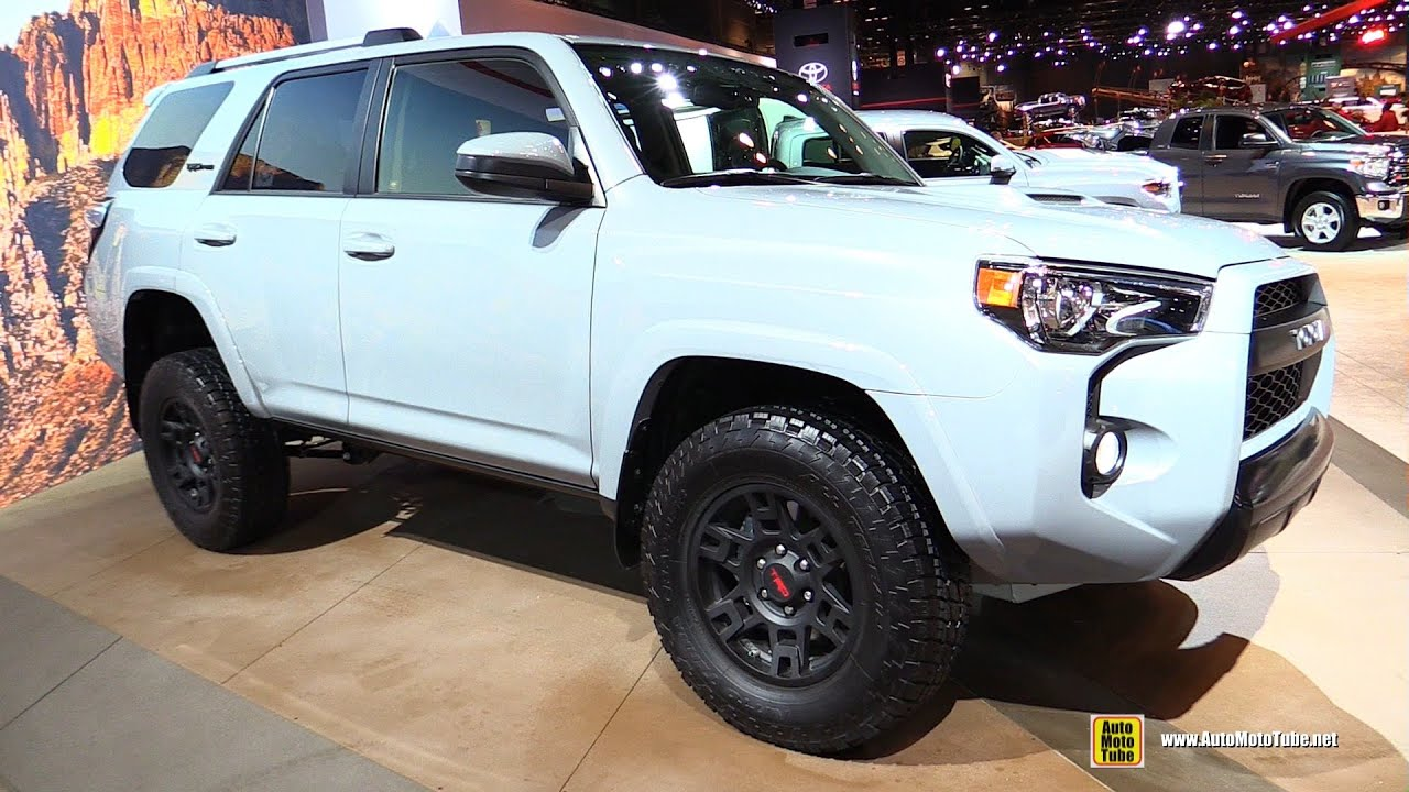 2016 Toyota 4runner Trd Pro Exterior And Interior Walkaround 2016 Chicago Auto Show Youtube