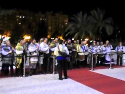 Exaltacion Fallera Mayor Valencia y Corte honor 2015 Recibimiento Palau Musica Valencia 2 video grab