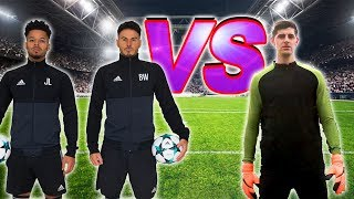 F2 VS COURTOIS | ULTIMATE 5-A-SIDE BATTLE!