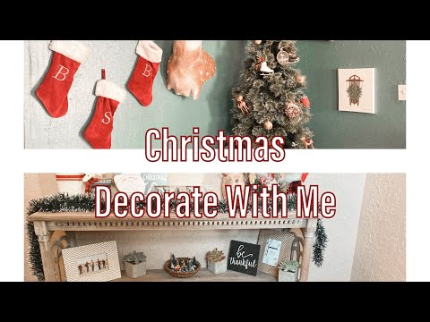 Christmas Decorate With Me