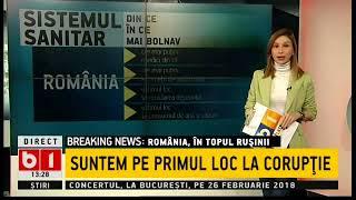 ROMANIA IN TOPUL RUSINIIADEVARATELE PROBLEME ALE TARII PRIMII LA ABANDON SCOLAR, ULTIMII L ...