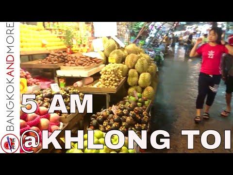 5 AM @ KHLONG TOI MARKET - BANGKOK