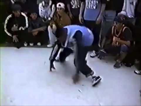 Rock Steady Crew VS IMPERIAL JB's/Dynamic Wiazards | Bboy Summit 1995. | Historic Footage.