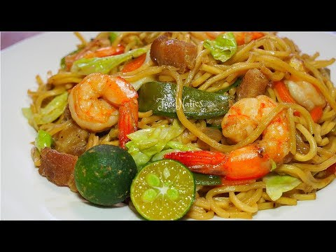 PANCIT CANTON | SAVORY AND DELICIOUS | FOODNATICS
