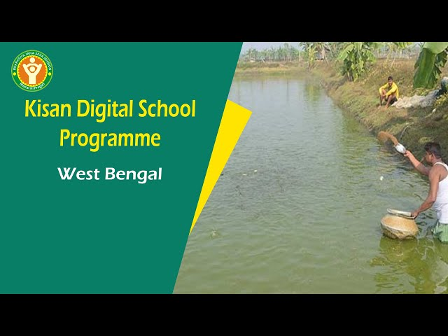 Kisan Digital School - Vol  2 On Fish Farming - NGO Working On Fish Farming