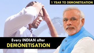 Every Indian after DEMONETISATION || Demonetisation Anniversary || Funchod Entertainment ||  Funcho
