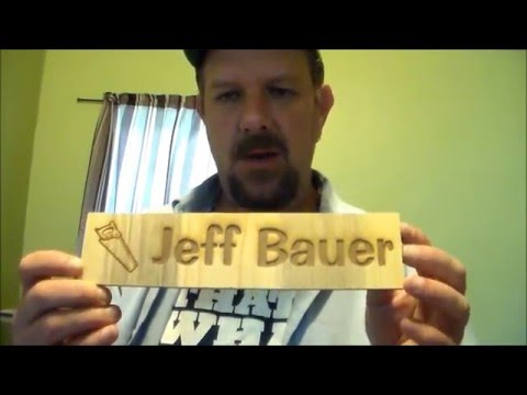 How To Make Wooden Desk Name Plates