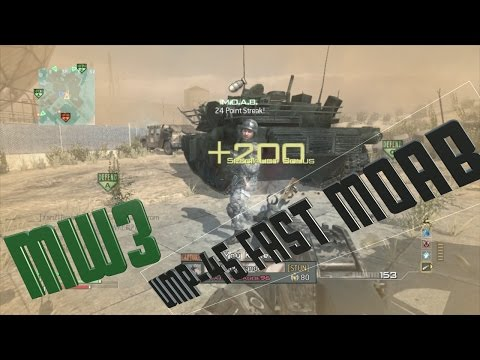 MW3- Quick UMP-45 MOAB on Dome!
