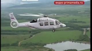 Досвідчений зразок нового вертольота Ка-62 здійснив перший випробувальний політ