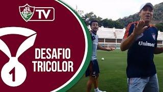 FluTV - O duelo - Fred e Renato se enfrentam após treino nas Laranjeiras